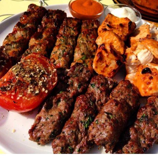 A very late & delicious Lebanese lunch @comptoirlibanais ❤️❤️❤️ ... (Comptoir Libanais)