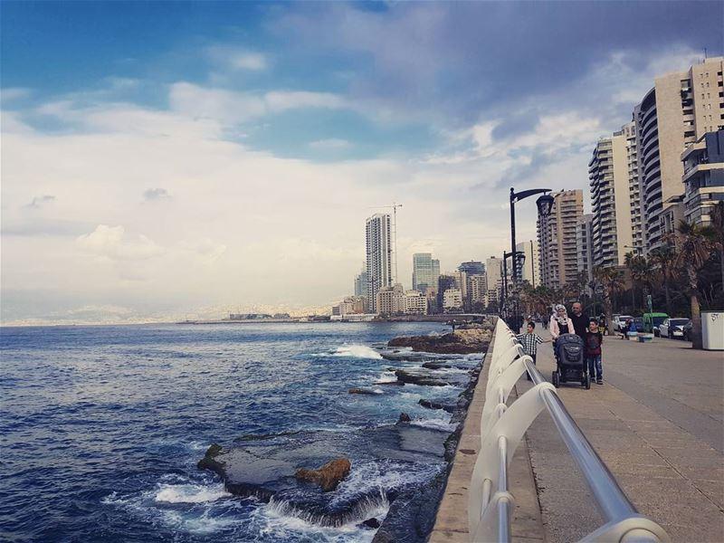 My city...Tells a thousand story.. ig_lebanon insta_lebanon ... (Beirut, Lebanon)