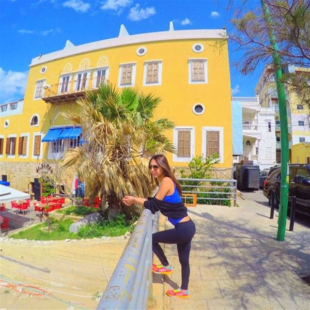 R I S E & S H I N E 😎☀️🌈 HappyWednesday ColorfulDay FreshMorning ... (Tyre, Lebanon)