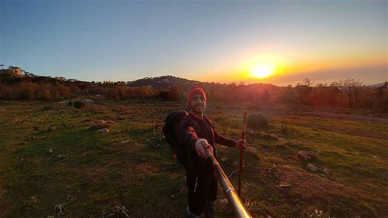 🚶🌅 ....... lebanon hiking backpacking nature lifeofadventure ... (Bikfayya, Mont-Liban, Lebanon)