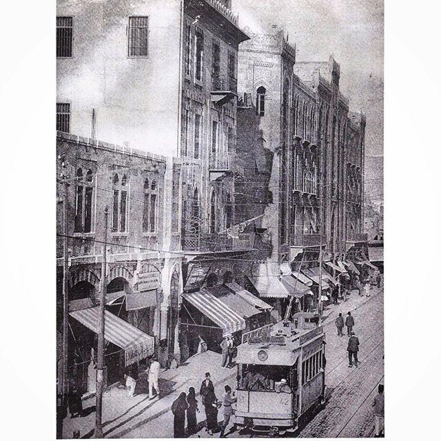 بيروت شارع ويغان عام ١٩١٩ ،