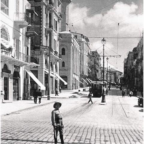 بيروت شارع فوش عام ١٩٣٩ ،
