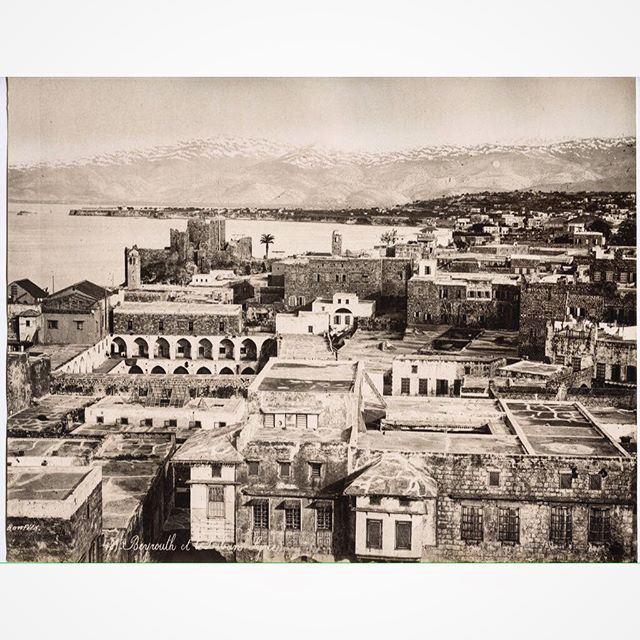 بيروت عام ١٨٨٠ ،
