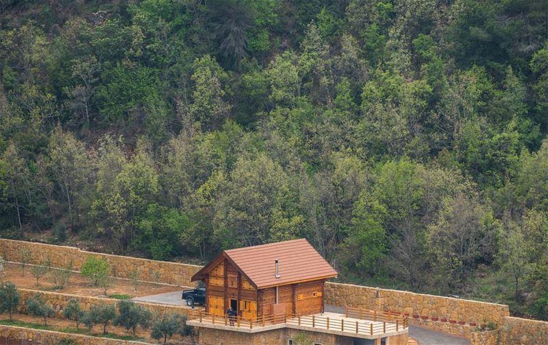 Lone house lebanon ... (Dhour choueir)