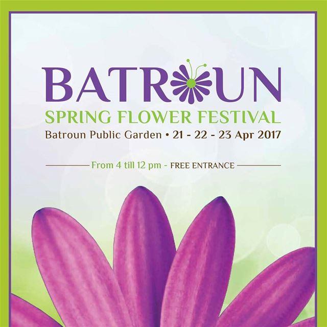 batroun Batroun_Spring_Flower_Festival 21_22_23_april bebatrouni ... (Batroun Public Garden)
