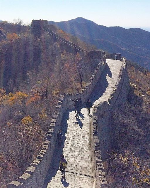 ... The Great Wall basking in mid-morning sun ☉----- .. china  shanghai... (Great Wall Of China - Mutianyu)