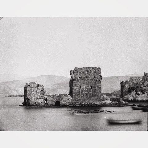 قلعة بيروت البحرية عام ١٨٩٨ ،