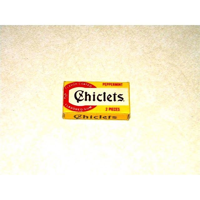 Chiclets 2 Pieces .