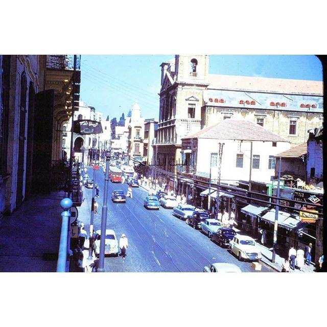 شارع الامير بشير بالقرب من ساحة الشهداء ،