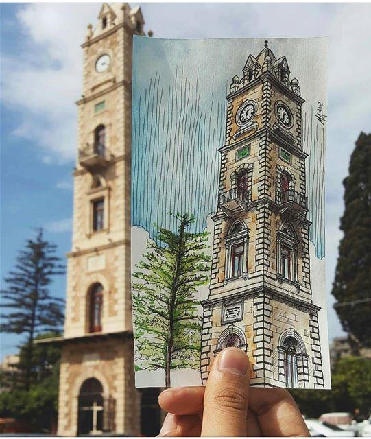 """""""الدّنيا ثلاثة أيّام، الأمس: عشناه ولن يعود، واليوم: نعيشه ولن يدوم، والغد: (Tripoli, Lebanon)"""