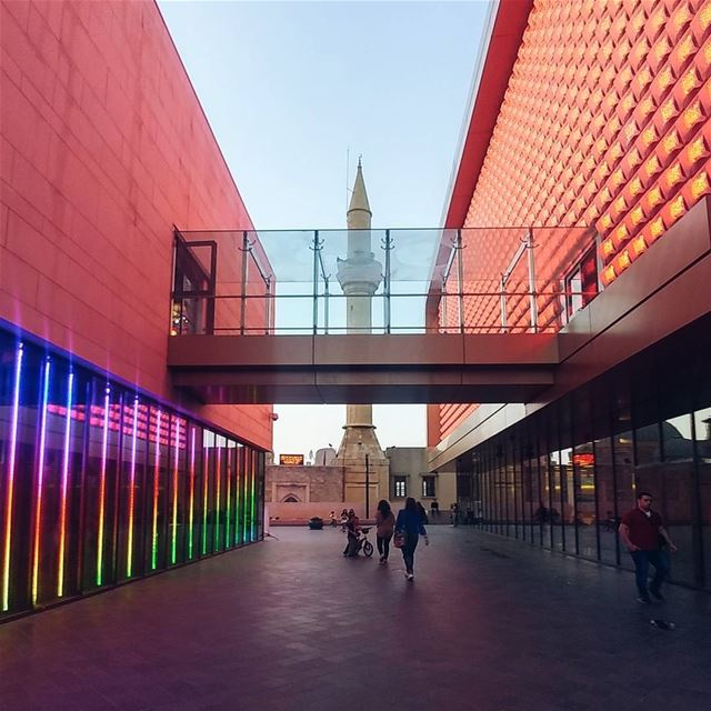 The colorful entertainment centre of Beirut Souks by Valode & Pistre ... (Beirut Souks Cinemacity)
