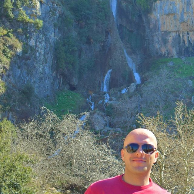 😎 LiveLoveAkkar LiveLoveWaterfalls Waterfall LiveLoveNature Smile ... (`Akkar Al `Atiqah, Liban-Nord, Lebanon)