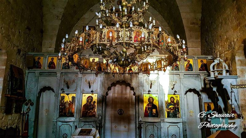 Visiting this blessed church makes you forget everything ______🔴⚪⚪🌲⚪⚪🔴_ (Saydet El Nourieh)