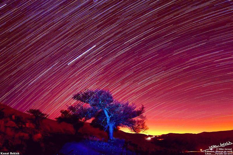 Stargazing night... lebanese lebanon kanatbekish stars stargazing ...