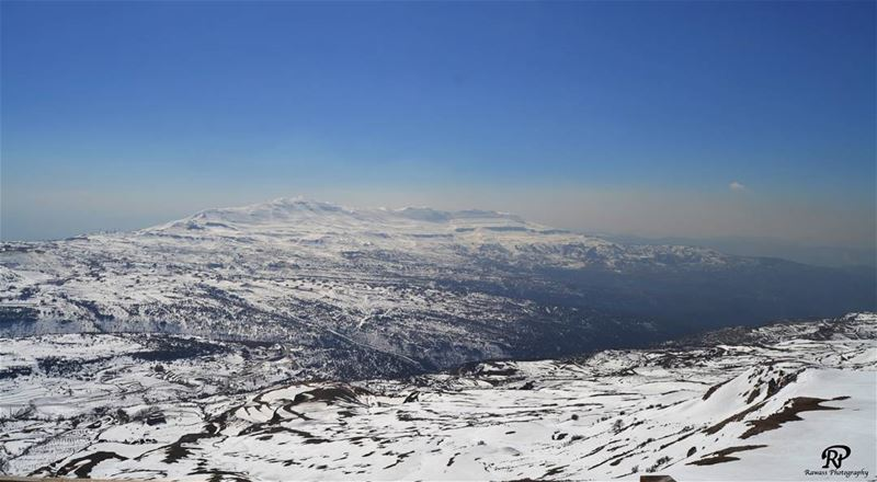 """ Sunshine is delicious, rain is refreshing, wind braces us up, snow is... (Faraya, Mont-Liban, Lebanon)"