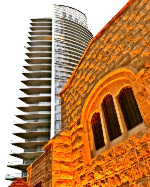 Contrast  Heritage  Old  Modern   Traditional  Proportions  ArchiLovers ... (Beirut, Lebanon)