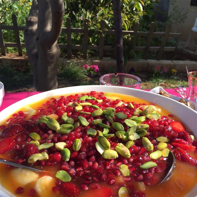 fresh fruitsalad delicious livelovefood livelovebeirut ...