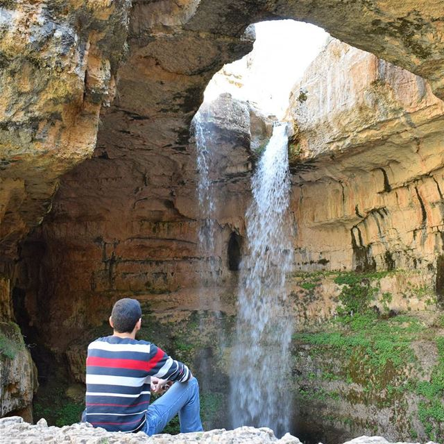 Enjoying The View 😎.. wonderfulplaces beautifuldestinations ... (Tannourine-Balou3 Bal3a)