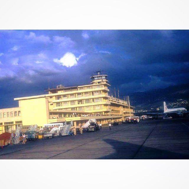 Beirut International Airport in 1967 .