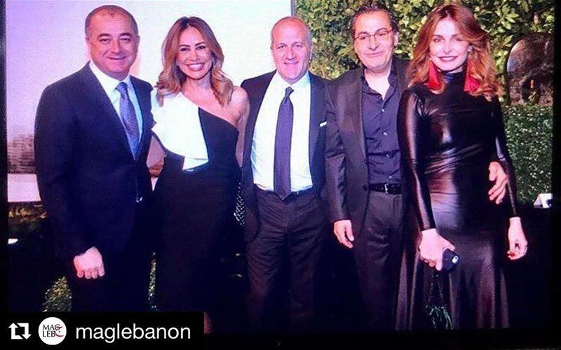 Repost @maglebanonSpotted @heartbeatlb Gala Dinner , Lebanon 's... (Biel/Beirut)