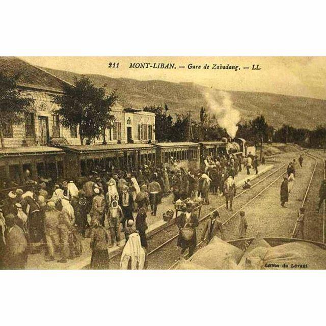 قطار لبنان ،