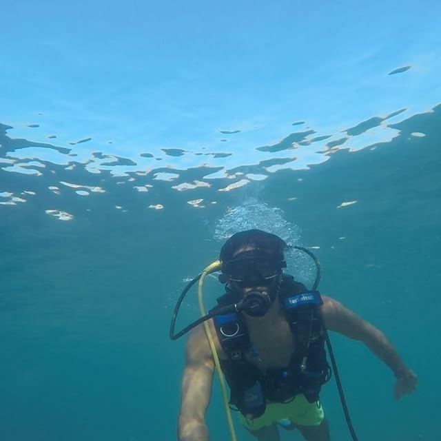 scubadiving gopro underwater mood lebanon mare acqua sea ... (Byblos)