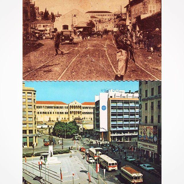 Ryad Al Solh Square 1932-1971 .