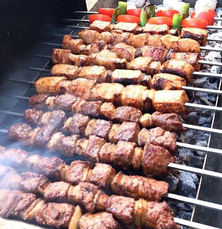 bbq grillsäsong grill meat lebanesefood bbq🍖 chicken ... (Norrköping, Sweden)
