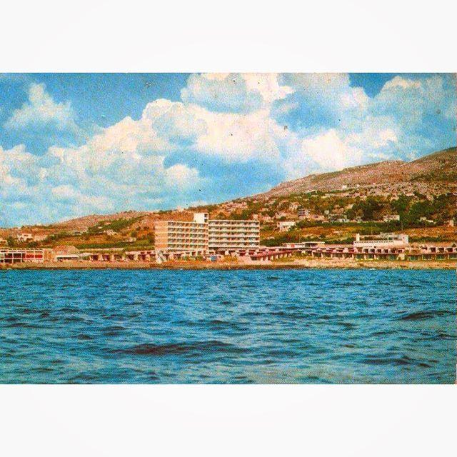 Tabarja Beach in 1967 .