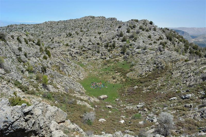 Don't climb mountains so that people can see you. Climb mountains so that... (Tannurin At Tahta, Liban-Nord, Lebanon)
