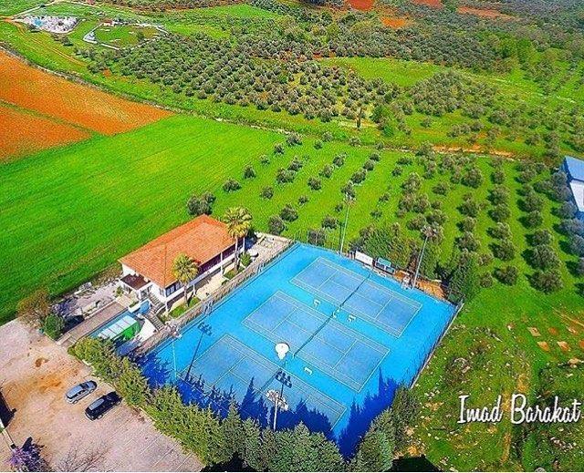 Amazing view from koura Photo by @imad.baraket Share the beauty of ... (Koura Tennis Club)