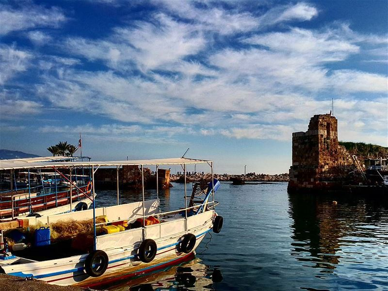 Beautiful Jbeil⛵⛅  LiveLoveJbeil  LiveLoveLebanon ... (Byblos - Jbeil)
