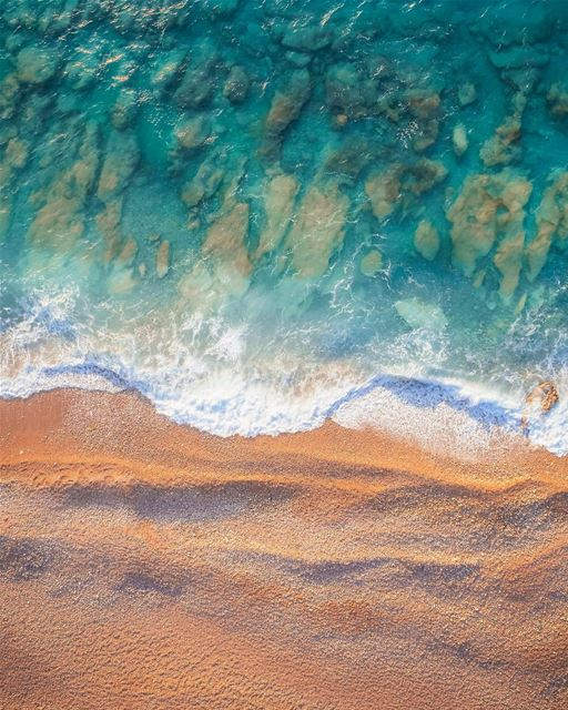 You can never get enough of the beach 🌊Photo taken with the @djiglobal... (White Beach)