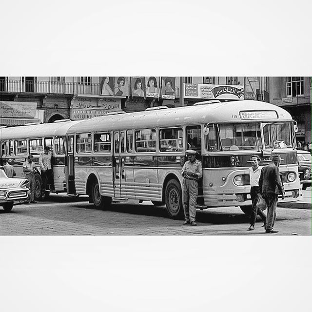 بيروت ساحة الشهداء عام ١٩٦٩ ،
