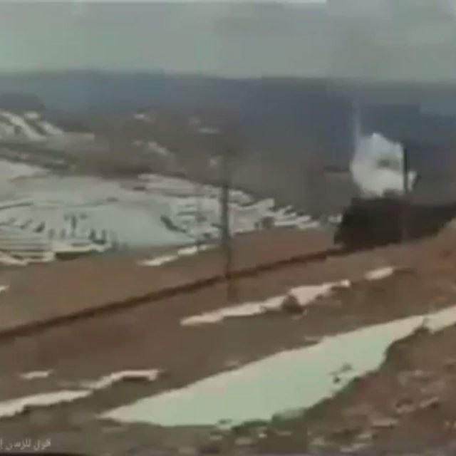 قطار لبنان ، بحمدون - ضهر البيدر عام ١٩٧٥ .