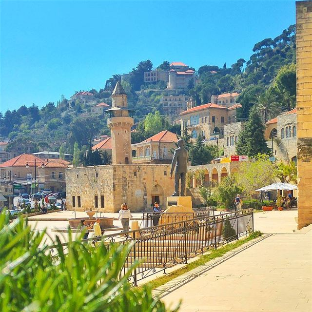 Just Beautiful ❤ lebanon nature naturelovers natureporn landscape ... (Dayr Al Qamar, Mont-Liban, Lebanon)
