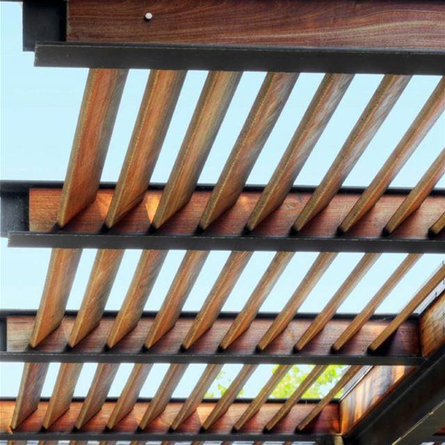 Backyard Patio pergola wood lebanon teak louvers patio ... (Bsalim, Mont-Liban, Lebanon)