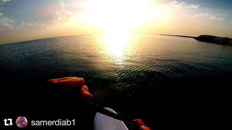 A blissful day! ☀️😎🏄🏽 Repost @samerdiab1 with @repostapp・・・From...