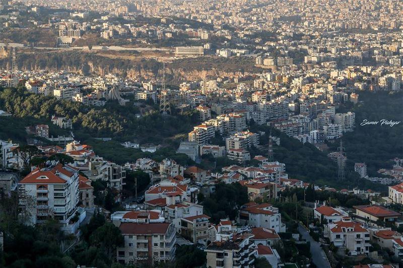 Cityscape...Beit Meri Lebanon ... Lebanese Beirut cityscape ...