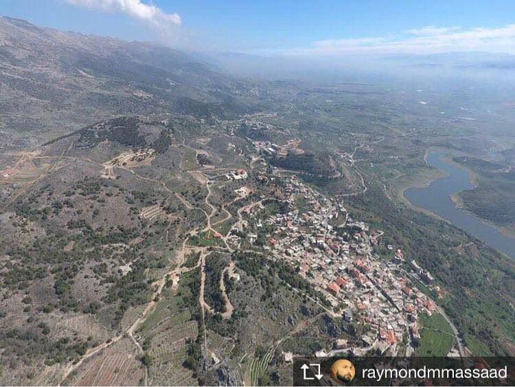 Repost from @raymondmmassaad nofilter landscape mylebanon myhometown ... (Saghbîne, Béqaa, Lebanon)
