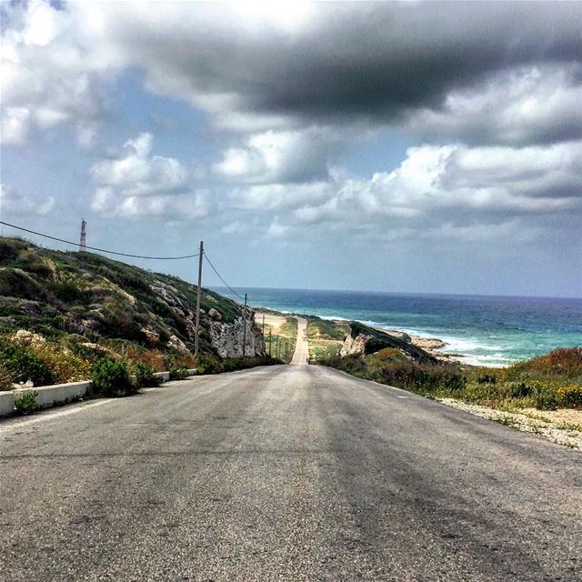 let the roads lead you ...  lebanon  southlebanon tyre  tyr  sour biking ... (En Nâqoûra, Liban-Sud, Lebanon)