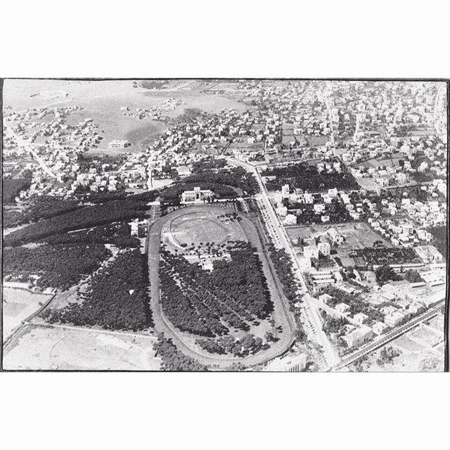 بيروت ميدان سباق الخيل عام ١٩٣٧ ،