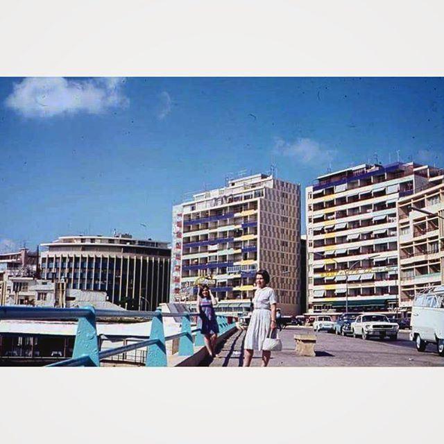 بيروت الروشة عام ١٩٦٧ ،