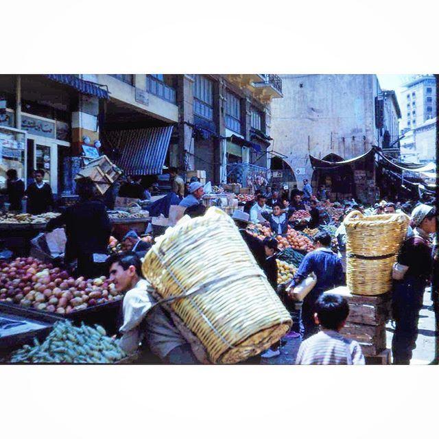 بيروت سوق النورية عام ١٩٦٦ ،