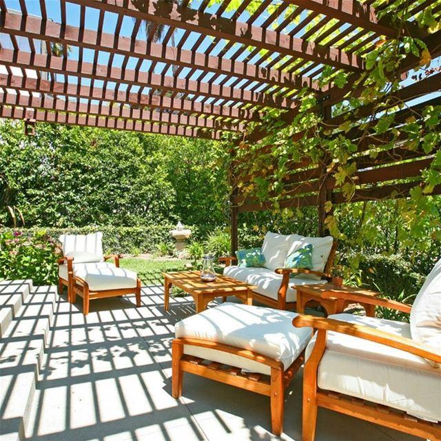 Outdoor Living outdoor pergola pergolakitslebanon structure light ... (Batroûn)