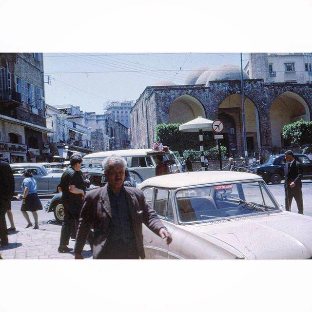 بيروت شارع ويغان عام ١٩٦٦ ،