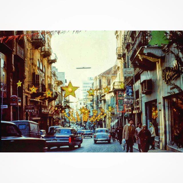 Beirut George Picot Street in 1966 .