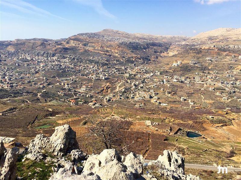 - A day with a view -.... ptk_lebanon amazinglebanon lebanon_hdr ... (Faqra Ruins)
