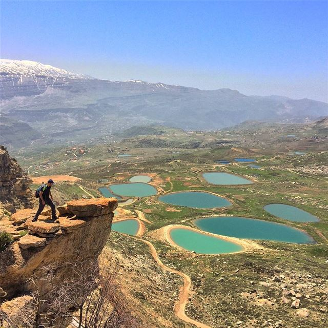Because eagles don't catch flies 🦅. akoura lebanon adventure hiking ... (Jerd El Akoura)