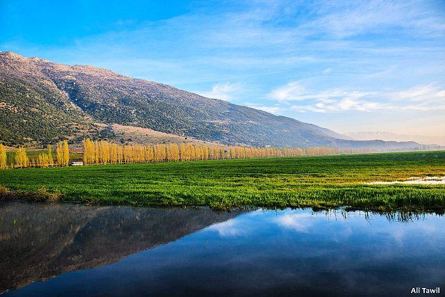 landscape nature beautiful naturephotography reflection instagood ... (West Bekaa)